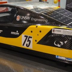 """Sunswift leads race to Adelaide in new """"Cruiser"""" class of 2013 World Solar Challenge"""