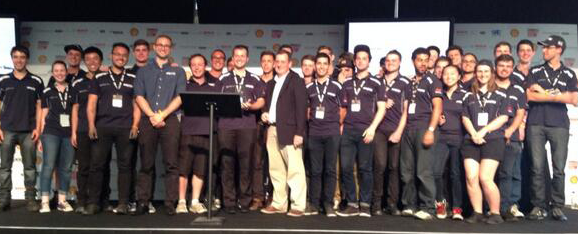 "Monash Motorsport take out ""Best Use of Virtual Methods to Achieve Vehicle Targets"" award at Silverstone"