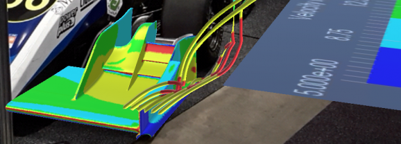 AR amplifies the insights and impact of CFD