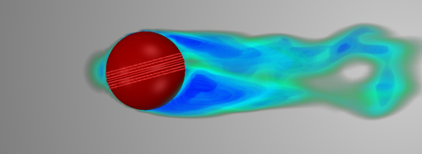 How can CFD help us better understand the physics of reverse-swing bowling?